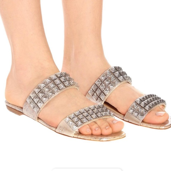 Christian Louboutin Studded Sandal Size